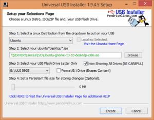 Make bootable pendrive