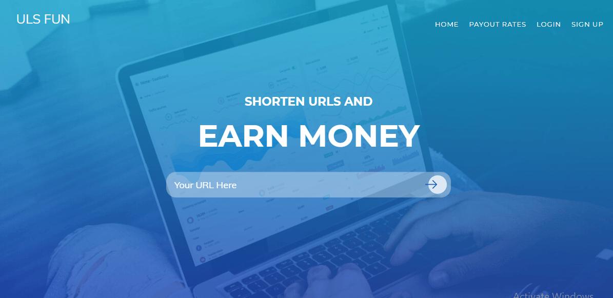 ULS FUN full Review | Make Money by sharing URL